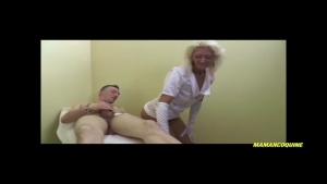 L'infirmiere a eu son concours avec mention