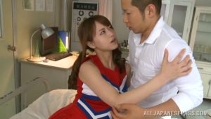 250 JScGi Akiho Yoshizawa gets it deep and hard and a facial