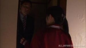 261 JScGi Amazing Asian schoolgirl Ruka Kanae masturbates