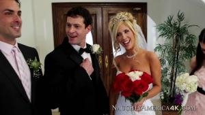 Tasha reign  avec son fiance avant la céremonie de mariage