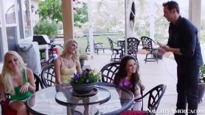 Aaliyah love allie et haze amanda tate ont un chibre geant pour se faire plaisir