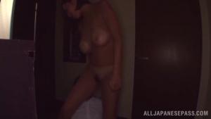 349 BiTiTo Hot busty Japanese chick Ruri Saijoh sucks and eats cum