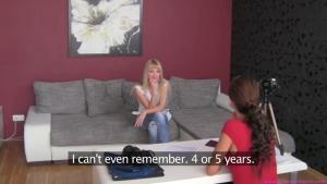 Susan participe a son premier casting lesbienne
