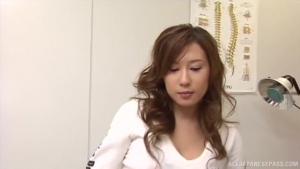Alluring Japanese AV model is hot milf getting tit fuck at nr  bndv hot japanese nurse se h
