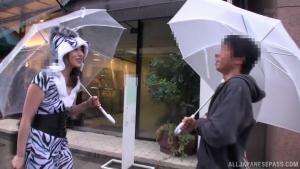 Ayu Sakurai nasty Asian milf gives handjob in public at  wanz ayu sakurai medium if you can put up with terrible tech h