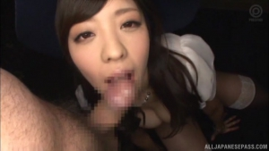 Beauty queen Fujii Arisa in threesome cosplay session at blw  wat fujii arisa tokyo cosplay sex action h