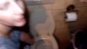 Blowjob piss drinking and toilette licking Pissingfetish org