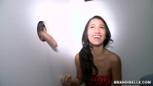 Lack of sensation in a girlfriend waved  's trying to gloryhole