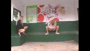 Busstop Wateringee In Water Porn Video 09