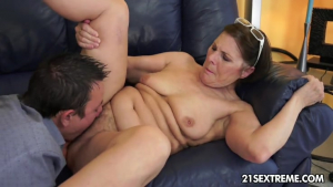Cock hungry GILF Margo and her newest boy toyRedTube