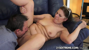 Cock hungry Gilf Margo and Her Newest Boy ToyFree Porn Vi