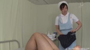 Egami Shiho gets naughty on a stiff pecker at nr  ufd egami shiho tokyo nurse sex h