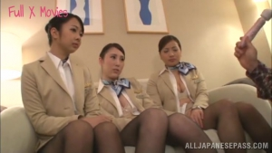 Hardcore BDSM action for some hot Japanese stweardesses at office  yrh japanese working woman sex h