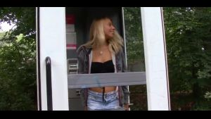 Hot Sexy MILF Pissing in Phonebox ee Porn 2f