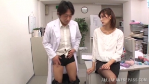 Ichika Kanhata Japanese office lady plays with her doctor boss at office  sero ichika kanhata japanese sweet milf sex h