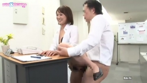 Intercourse During Your Work Always With A Smile JAV