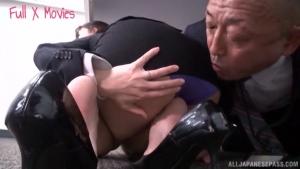 Japanese AV Model is a hot milf getting public rear fucking at office  kil hot tokyo office sex action h