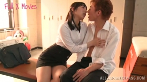 Kana Yume naughty Asian teacher in short skirt fucks at  h