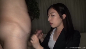 Lusty session with sexy Asian chick Rena Sakaguchi at office  saba rena sakaguchi japanese leg fetish h