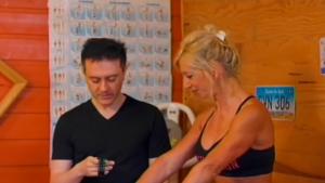 Marina et Son Prof De Gym