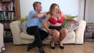 Mature blonde slut with big bouncy tits Camilla is cheating on her husband and getting a cumshot fullxmovies com