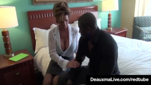 Milf Secretary Deauxma Gets Banged By Boss s Big Black Cock