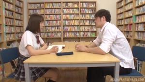 Mogami Kasumi in heats enjoys a big dildo in her cherry at sg  mds mogami kasumi sweet japanese schoolgirl sex h