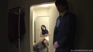 Naughty office lady Eri Itou fucks a co worker at office  wss eri itou japanese secretary sex h