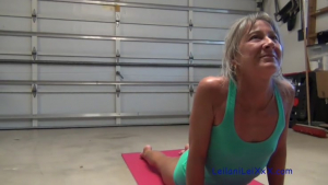 Petite Milf s Yoga Interrupted by BBCRedTube