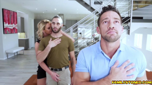 Phoenix Marie double team by two loaded cocks getting sandwi