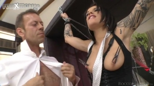 Rocco s Perfect Slaves  Franceska Jaimes Nikita Bellucci Scene  p