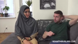 Sexwithmuslims Sofia the Bum Slacking muslim wife punished