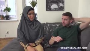 Sexwithmuslims Sofia the Bum Slacking muslim wife punished