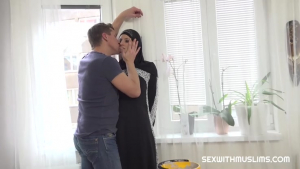 Sexwithmuslims Tiny Tina Hot muslim woman doing extra cleaning