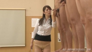 Sexy Asian teacher demonstrates cock in a sex ed class at gb  vvp japanese amateur schoolgirl sex h
