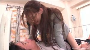 Stunning Japanese teacher Ameri Ichinose gets it hard from her student at milf  xv ameri ichinose cute japanese sex h