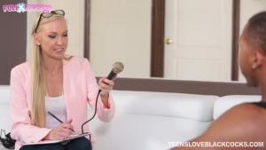 Kara Stone Interviewing Fucking