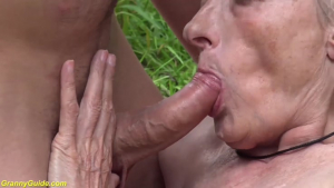Ugly  Years old Mom first Public Fuck