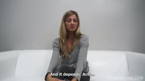 Pavlina passe un casting porno