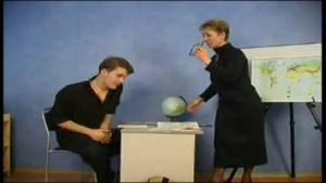 Prof russe nymphoman séduit un jeune ado