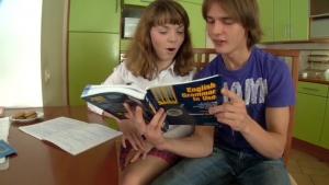 Cours d anglais entre etudiants russes