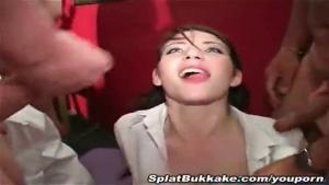Compilation de bukkake et douche de sperme
