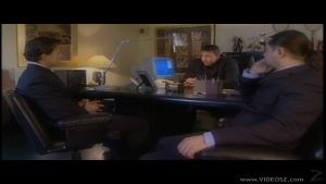 Annette schwarz suck a big dick in office