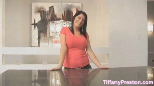 Tiffany Preston A big load of sperm down her throat is nothing new for this curvaceous brunette