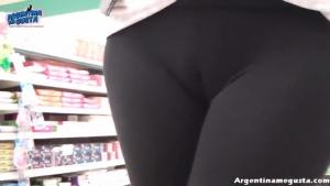 Les filles argentines et leur leggins ultra moulant