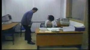 Amateur video of a secretary taking on the desktop