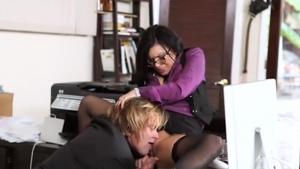 Filthy secretary eva angelina