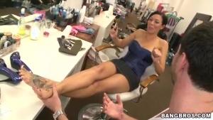 Rachel Starr et ses jolis pieds