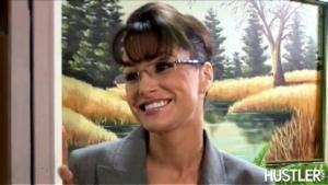 Lisa Ann dans le rôle de Sarah Palin, gouverneur de l'Alaska