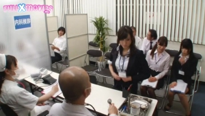 Japonaise jav Embarrassment Urgent Physical Exam For Company Office Ladies  Edition SVDVD